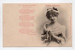 - CPA BERGERET (illustrateurs) - Vieilles Chansons - Le Bouton De Rose - Edition Bergeret N° 12 - - Bergeret