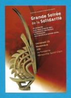 CPM.  Carte à Pub.   Grande Soirée De La Solidarité 2005 à Hérouville Saint-Clair (14).   Postcard. - Herouville Saint Clair