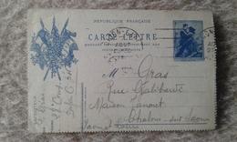 CARTE LETTRE - Cartes