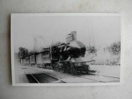 PHOTO - Train - Villeneuve Saint Georges - 1907 - Trains
