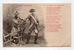 - CPA BERGERET (illustrateurs) - Vieilles Chansons - Le Départ Du Grenadier - Edition Bergeret N° 14 - - Bergeret