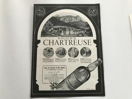 Pub Liqueur CHARTREUSE - 1951 - Publicités