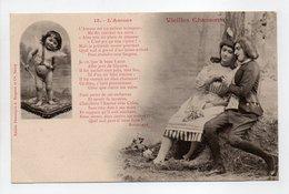 - CPA BERGERET (illustrateurs) - Vieilles Chansons - L'Amour - Edition Bergeret N° 15 - - Bergeret