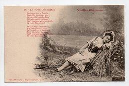 - CPA BERGERET (illustrateurs) - Vieilles Chansons - La Petite Jeanneton - Edition Bergeret N° 19 - - Bergeret