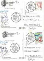 Spitsbergen Set Of 2 Postcards Italian Arctic Expeditions - Arctic Expeditions