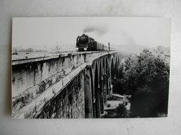 PHOTO P. Laurent - Train - Sur Le Viaduc De Nogent Sur Marne - 05/1963 - Eisenbahnen