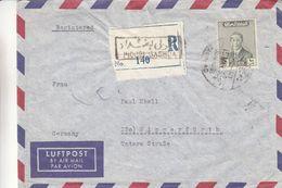 Iraq - Lettre Recom De 1955 - Oblit Baghdad - Exp Vers Wipperfürth - - Iraq