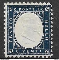Italy - Italia 1862 Mi. No.12 - 1861-78 Vittorio Emanuele II
