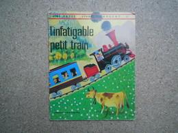 L'infatigable Petit Train Mon Petit Livre D'argent 1971, Rare.......4A010320 - Livres, BD, Revues