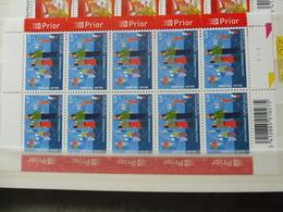 Belgique Belgie Kleine Blad Petite Feuille Numero 3211 Planche 1 - Feuilles Complètes