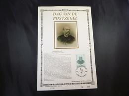 "BELG.1987 2248 FDC Filatelic Zijde Card NL.Lim.Ed. : "" DAG VAN DE POSTZEGEL 1987"" - FDC"
