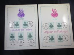 """BELG.1987 2248 - FDC Philatelic Cards : """" Dag Van De Postzegel/ Journée Du Timbre """" - FDC"""