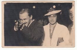 GIOSTRA LUNA PARK TIRO A SEGNO SHOOTING STAND TIR A LA CARABINE - FOTO ORIGINALE - Persone Anonimi