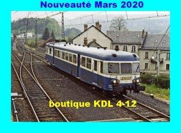 RU 1828 - Autorail X 2850 à NEUSSARGUES - Cantal - SNCF - Altri Comuni
