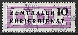 1957 - DDR - Michel 10 [Dienstmarken B] - Service