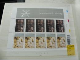 Belgique Belgie Kleine Blad Petite Feuille Numero 3386/7 Planche 1 - Feuilles Complètes