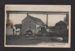 CPSM Pf . 23 . BUSSEAU-sur-CREUSE . La Fromagerie Et Le Viaduc . - France