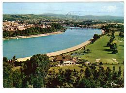 Vichy - Vue Générale Sur Le Golf Le Lac D'Allier Et Le Pont De Bellerive - Circulé 1964 - Vichy