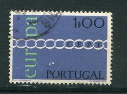 PORTUGAL- Y&T N°1107- Oblitéré (Europa) - Europa-CEPT