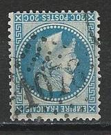 Frankreich Yv 29A, Mi 28 Obl. GC 1076 Colmar - 1863-1870 Napoleone III Con Gli Allori