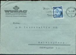 09508 DR Saar 568 EF Brief Görlitz - Helsinki Finnland - Germany