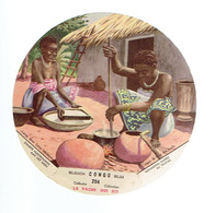 *LA VACHE QUI RIT - CONGO BELGE* 204 *   Ménageres Noires Au Travail - Chromos