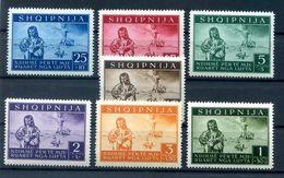 Albanien 15/21 Tadellos ** POSTFRISCH 100EUR (H4009 - Occ. Allemande: Albanie