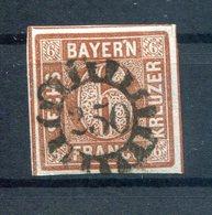 Bayern Nummernstpl Gmr 250 Auf 4II Ideal Gest. (H0471 - Beieren