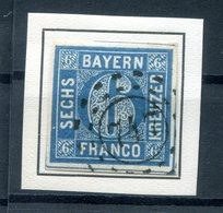 Bayern Nummernstpl OMr747 10 LUXUS Gest. (H1035 - Bavière