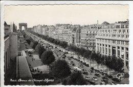 Cpa Paris Avenue Des Champs Elysees - Champs-Elysées