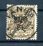 DOA 1d FARBE Gest. BPP 45EUR (H2292 - Kolonie: Deutsch-Ostafrika
