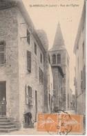 42 - SAINT MARCELLIN  - Rue De L' Eglise - France