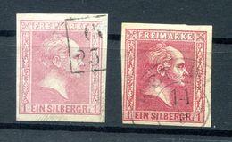 Preussen 10a+b Beide Farben  Gest. 15EUR (H2147 - Preussen