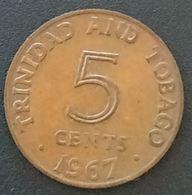 TRINIDAD AND TOBAGO - 5 CENTS 1967 - KM 2 - Trinité-et-Tobago - Trinité & Tobago