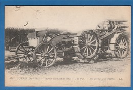 372 GUERRE 1914 1915 MORTIER ALLEMAND DE 280 - Guerra 1914-18
