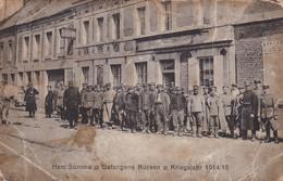 HAM 1914/1915 Prisonniers De Guerre Russe - Ham