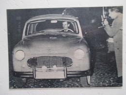 Automobile à Identifier   - Coupure De Presse 1960 - Voitures