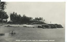 CEYLON    ( SRI LANKA )  MOUT LAVINIA HÔTEL AND ITS SURROUDINGS - Sri Lanka (Ceylon)