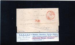 CG28 - Lett. Da Torino X Borgo - Lugano 28/5/1856 - 1. ...-1850 Prefilatelia