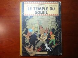 TINTIN : LE TEMPLE DU SOLEIL : Edit. Orig. 1950 - Hergé
