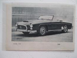 Voiture GREGOIRE SPORT  CAB. à Compresseur  Qui Sera Confiée à Capron - Coupure De Presse 1957 - Voitures