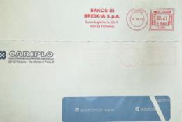 Italy, Bank - Meter Cancel - BBC - Fabbriche E Imprese