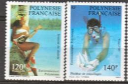 Polynésie Française, Superbe ** 331/332 - Polinesia Francese