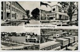 C.P.  PICCOLA    UNIVERSITE'  DE  FRIBOURG         2 SCAN    (VIAGGIATA) - FR Fribourg