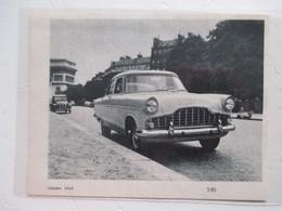 Voiture Ford Modele ZEPHiR à Paris  - Constructeur Ford à Dagenham UK - Coupure De Presse 1957 - Voitures