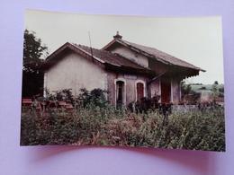 Gare De Vauconcourt Sept 1983 Haute Saône Franche Comté - Frankreich