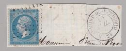 N° 22 T.P. Ob GC 385 ( Très Faible ) + T 15 Beaumont De Périgord ....61 ( Dept 23 Dordogne ) - Marcophilie (Timbres Détachés)