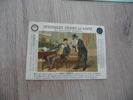Calendrier Pub Publicitaire 1890 Chromo Véritables Grains De Santé Du Docteur Franck - Calendars