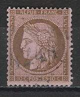 Frankreich Yv 58, Mi 52 Obl. - 1871-1875 Cérès