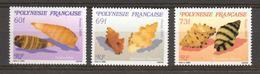 Polynésie Française, Superbe ** 343/344/345 - Polinesia Francese